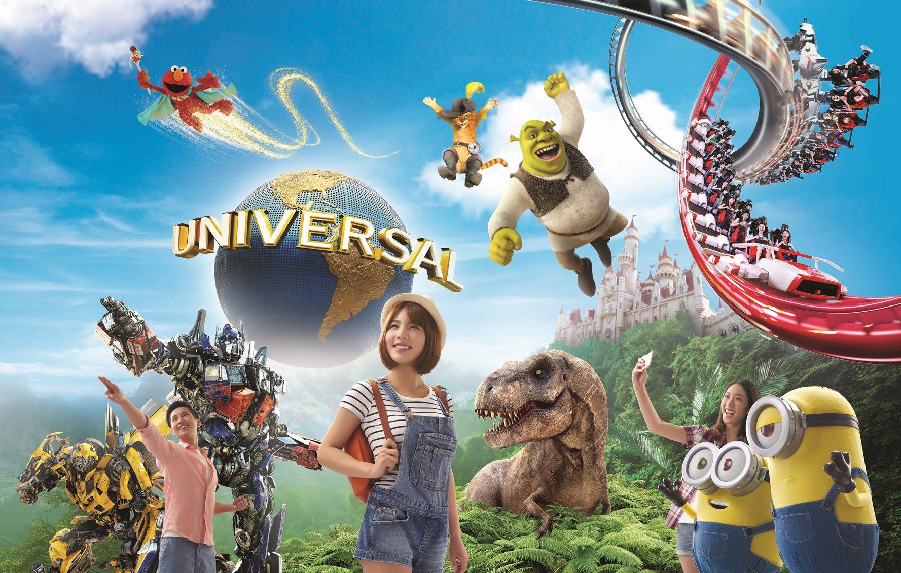 【Fun ‧ 紛樂園】必遊!新加坡環球影城™│新加坡自由行套票3-31天