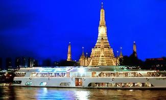曼谷【湄南河遊船自助晚餐-Grand Pearl】自由行套票3-31天