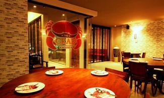 布吉島【The Crab's House海鮮餐廳】自由行套票3-31天(包海鮮2人套餐一頓)