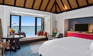 【Four Seasons Resort Maldives at Kuda Huraa】馬爾代夫自由行套票6天4晚(包快艇接駁)