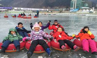首爾【華川釣冰魚慶典】自由行套票3-31天(包釣魚體驗及滑冰體驗)