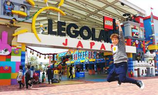 【全新開幕 Legoland® Japan】名古屋自由行套票3-31天(包免費全程pocket wifi租借服務)