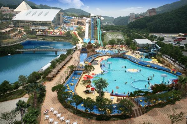 【加勒比海灣】韓國最大水上樂園 │首爾自由行套票3-31天