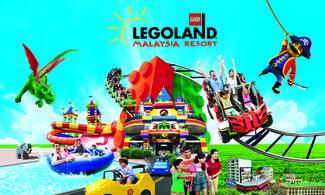 【Fun ‧ 紛樂園】LEGOLAND Malaysia Resort│新加坡自由行套票3-31天