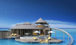 【全新開幕酒店 x 滑水梯水上別墅 - Soneva Jani Maldives】馬爾代夫商務自由行套票5天3晚 (包水上飛機接駁)