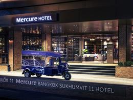 【4星級酒店精選: Mercure Bangkok Sukhumvit 11 】曼谷自由行套票3-31天(包由泰旅局送出的BTS Rabbit Card乙張)