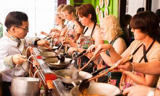 【食玩瞓】Silom Thai Cooking School | 包半天早上泰菜烹飪班連逛菜市場及由泰旅局送出的BTS Rabbit Card乙張 | 曼谷自由行套票3-31天