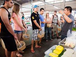 【Silom Thai Cooking School】曼谷自由行套票3-31天(包半天早上泰菜烹飪班連逛菜市場) (包由泰旅局送出的BTS Rabbit Card乙張)