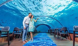 【擁有全球最大海底餐廳 Hurawalhi Maldives】馬爾代夫自由行套票5天3晚(包水上飛機接送)