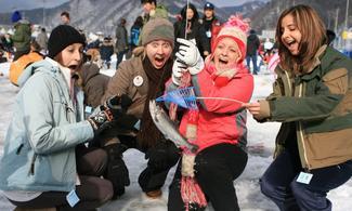 【冰雪世界】包華川釣冰魚慶典一天團│首爾自由行套票3-31天