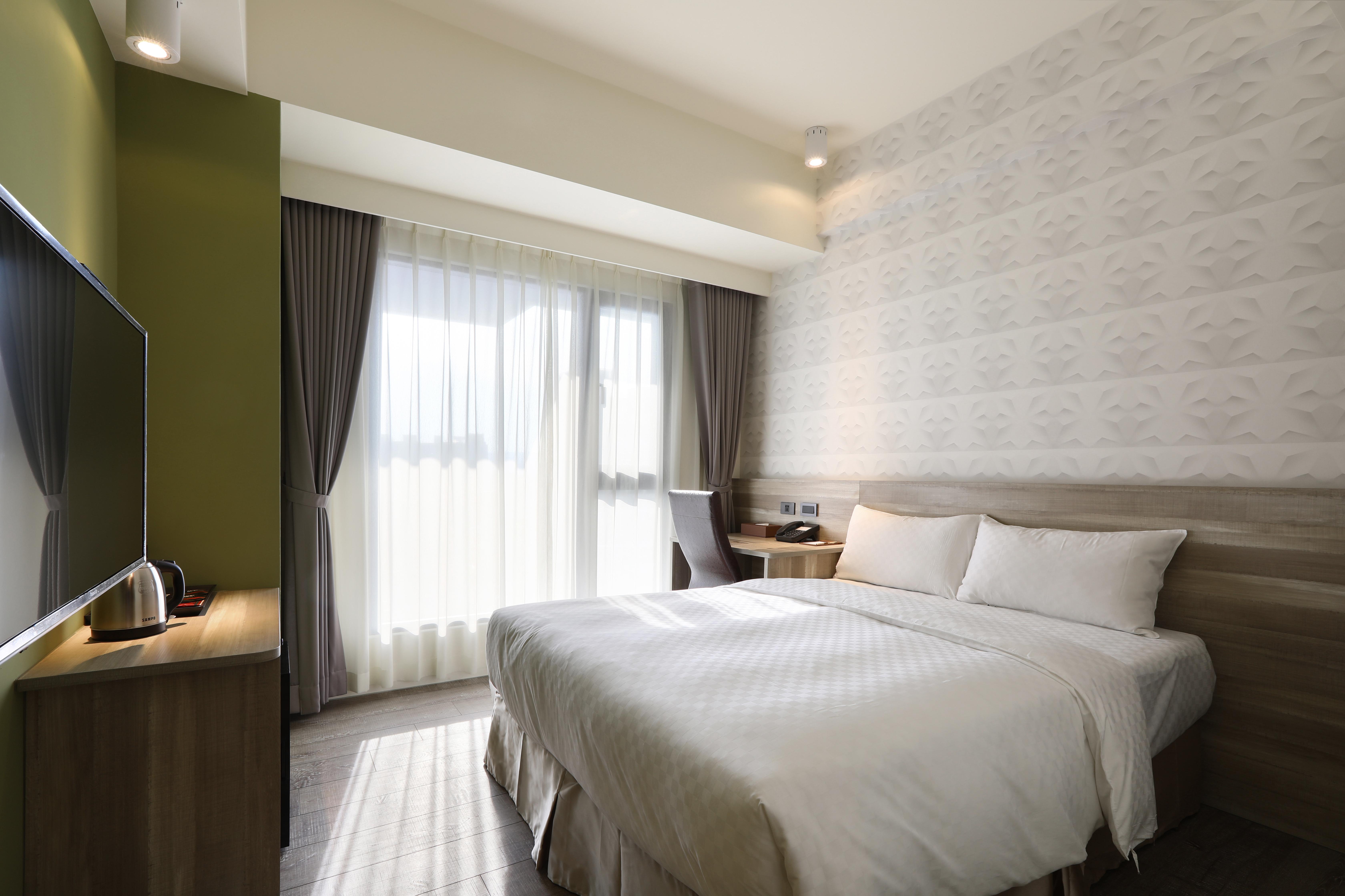 【必住新酒店】就近夜市、精致經典任君選擇│台中自由行套票3-31天