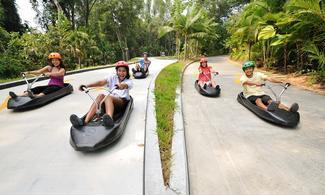 【食玩瞓】聖淘沙高速下滑車Skyline Luge及空中吊椅體驗 │新加坡自由行套票3-31天