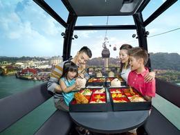 【新加坡高空纜車晚宴】高空上的浪漫晚餐約會! │新加坡自由行套票3-31天