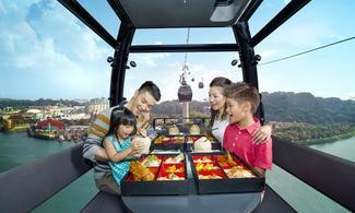 【吃貨召集】新加坡高空纜車晚宴 │新加坡自由行套票3-31天