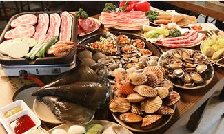 【潮 ‧ 食】包貝殼倉庫(永登浦分店)任食2小時套餐 │首爾自由行套票3-31天