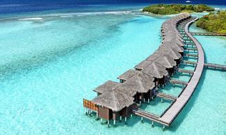 【食玩瞓】Sheraton Full Moon Resort & Spa Maldives | 馬爾代夫自由行套票6-31天 | 包快艇接駁