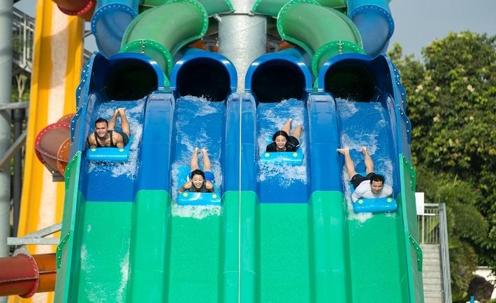 【 Wild Wild Wet 水上樂園1日門票 】連續三年獲得TripZilla最佳家庭旅遊景點獎和亞洲十大水上樂園獎 │新加坡自由行套票3-31天