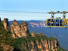 【食玩瞓】又越過高山又越過谷 - 任搭Blue Mountains纜車 | 悉尼自由行套票4-31天