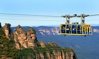 【SCENIC WORLD】任搭Blue Mountains纜車 | 悉尼自由行套票4-31天