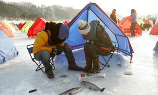 【冰雪世界】韓國冬日慶典 - 平昌釣冰魚│首爾自由行套票3-31天