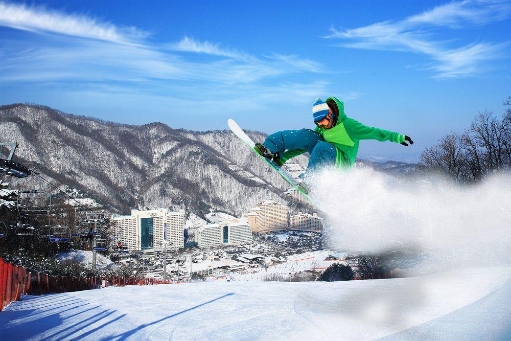【滑得喜】冬季限定 - 大明滑雪埸一天團│首爾自由行套票3-31天