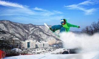 【大明滑雪埸】滑雪BB班│首爾自由行套票3-31天