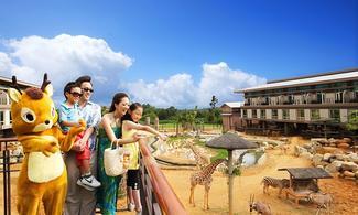 【主題樂園-關西六福莊生態渡假旅館】台北自由行套票3-31天